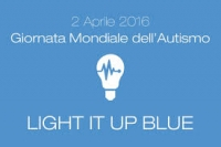 Giornata mondiale dell'autismo: light it up blue